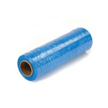 "Hand Stretch Film -BLUE tint - 18"" x 1500' - 80 gauge"