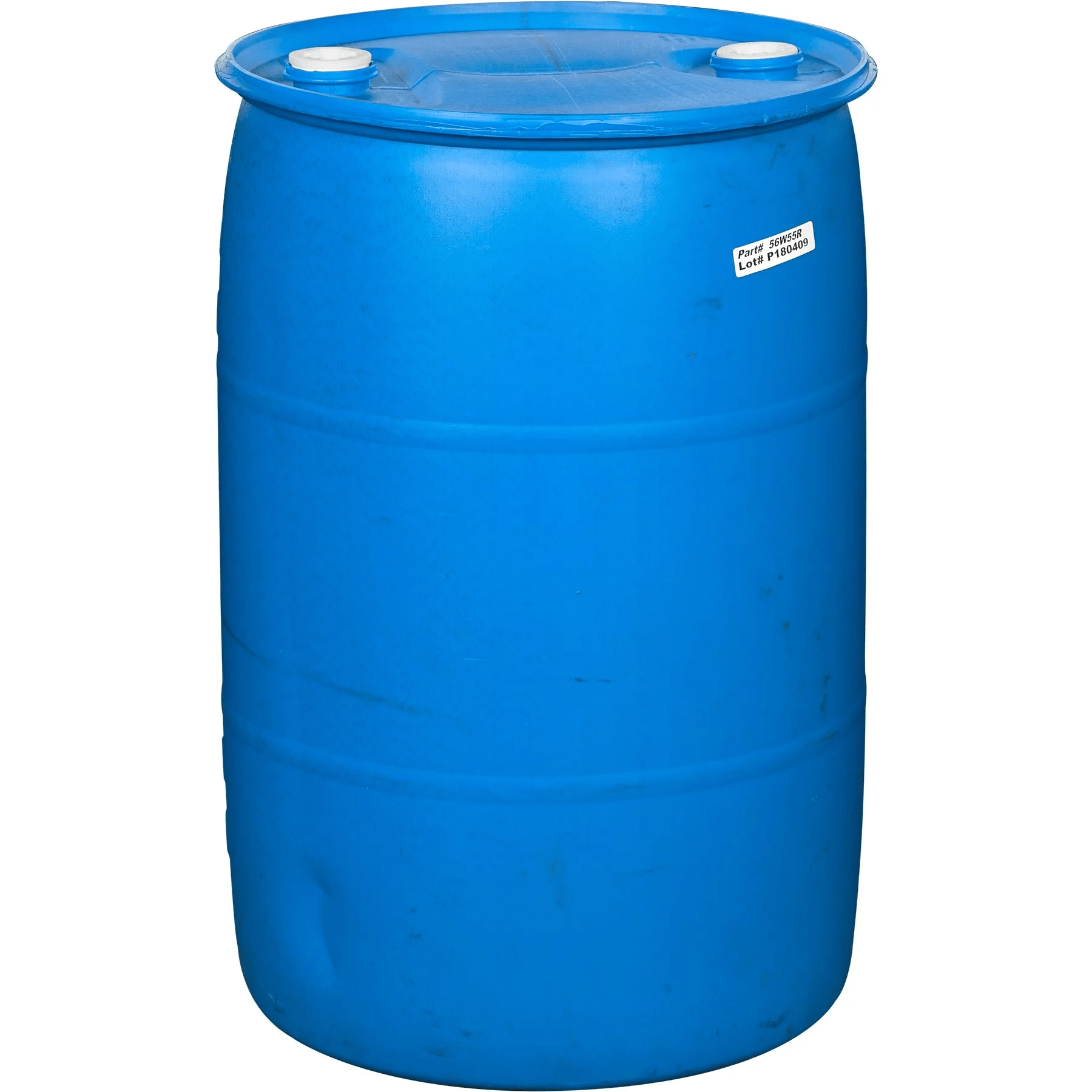 Spill Containment Polyethylene Drum - Blue (55 US gallon)
