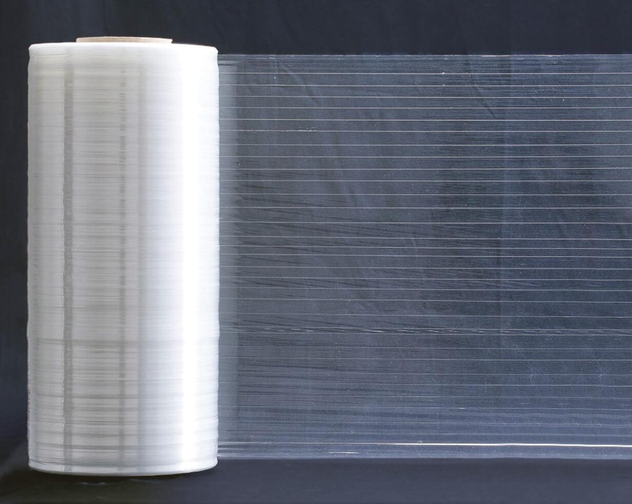 """Machine Stretch Fibre Film - 20"""" x 5250' (46 rolls/skid)"""