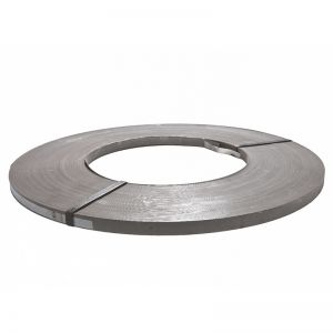 "Steel Strapping - 1 1/4"" x .029"" Zinc, 50kg/coil"