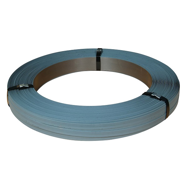 "Steel Strapping - 3/4"" x .025 Zinc, 50kg/coil"