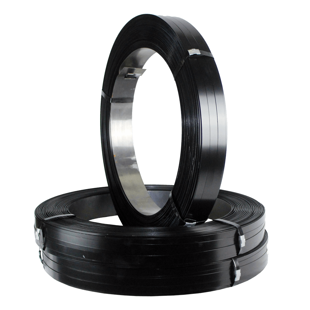 "Steel Strapping - HT - 3/4"" x .029, 50kg/coil"