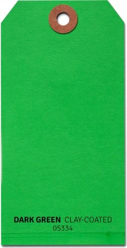 Shipping Tags #8 - Green