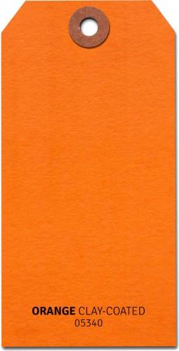 Shipping Tags #5 - Orange