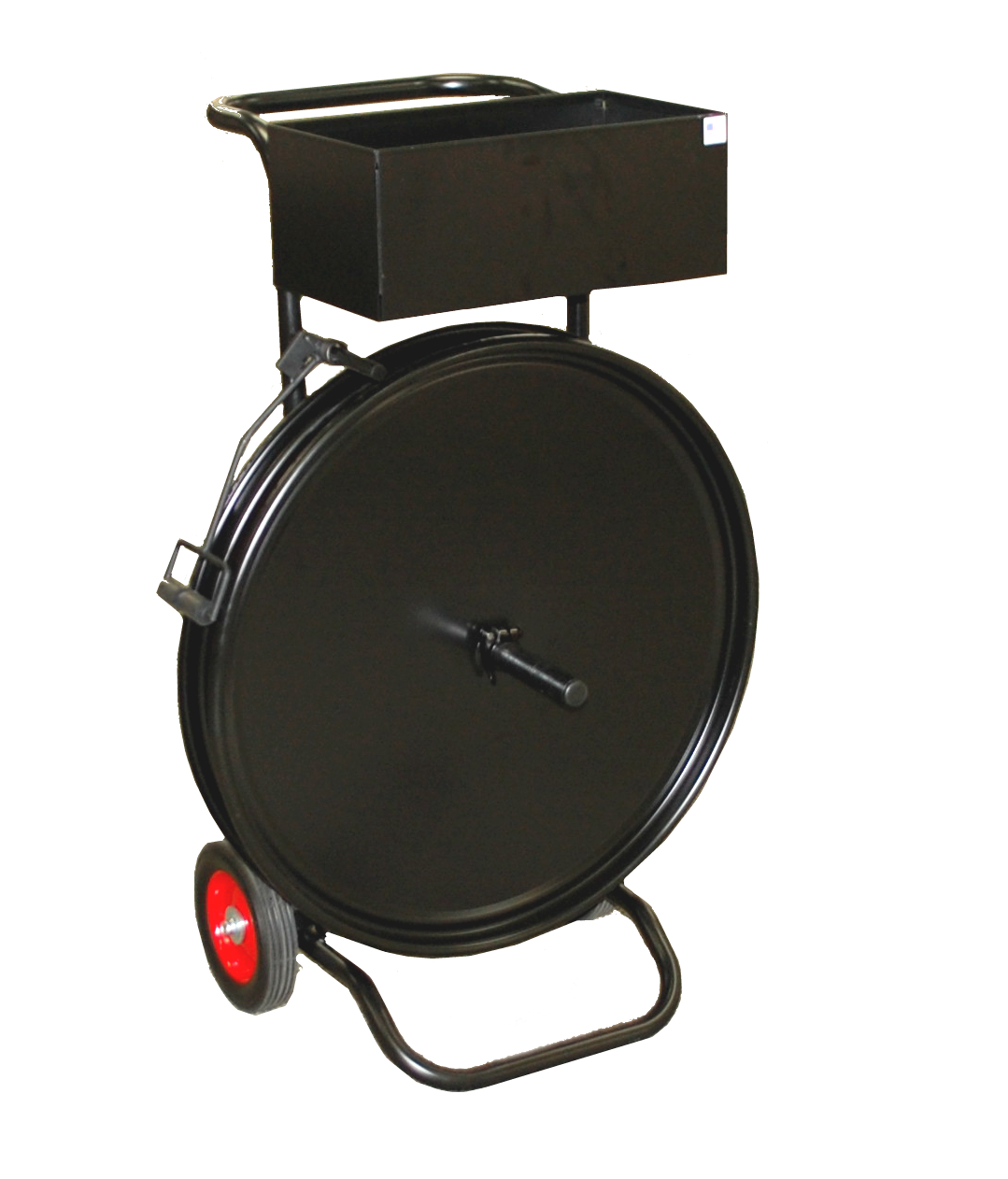 """Strapping Dispenser Cart - Steel or Polypro (8"""" x 8"""" or 3"""" x 16"""" Core)"""