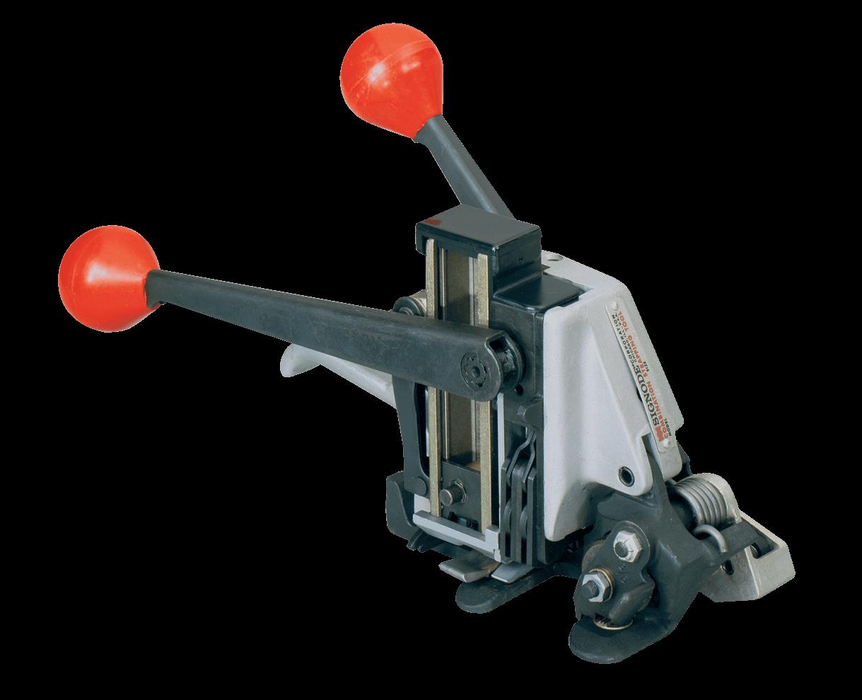 "Combo Tool Manual Seal-Feed 3/8"" Double Notch Signode AL-38"