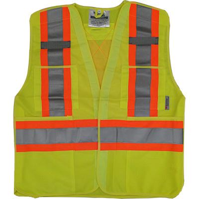 Safety Vest Lime 022-TV6-PKTA-L