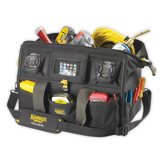Tool Bag - Tech Gear with Speaker - 18""