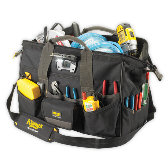 Tool Bag - L232 - Big Mouth with Light - 18""