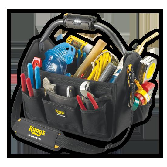 "Tool Bag - L234 - Bar Handle with Light - 15"""
