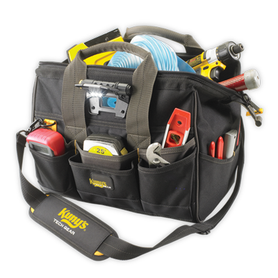 Tool Bag - L230 - Tech Gear Big Mouth with Light - 14""