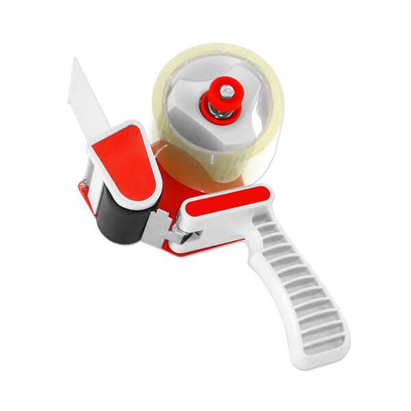 "Tape Dispenser, 2"" tape, 3"" core, Plastic with Metal"