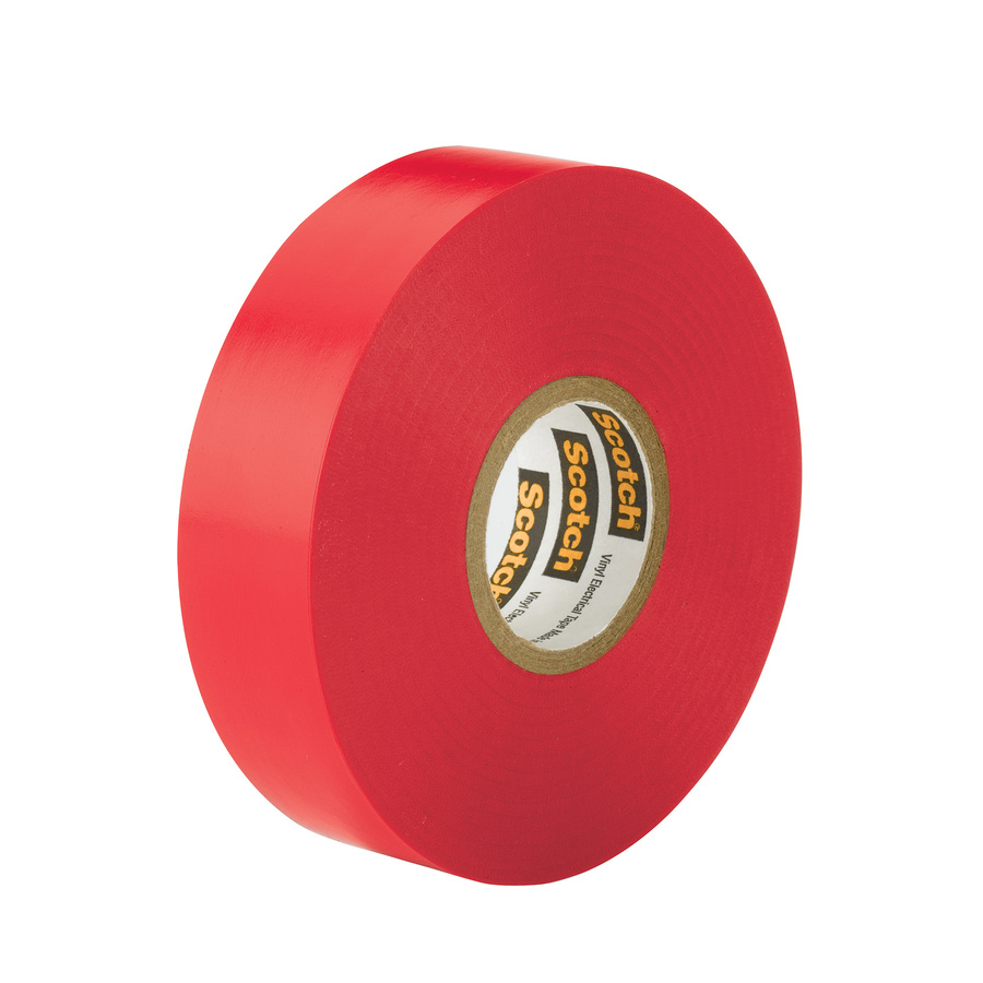 Electrical Tape - Red, 18 mm x 18 m
