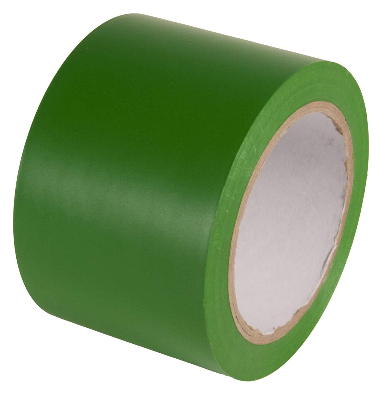 Lane Marking Tape - Green Vinyl Tape - 48mm x 33m