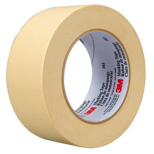 "Masking Tape, 3M - #203, Standard, 1 1/2"", 24/cs"