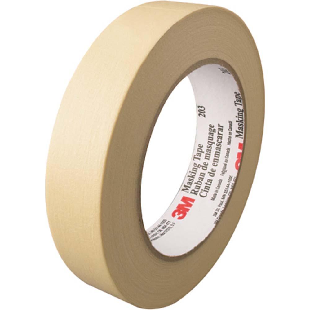 "Masking Tape, 3M - #203, 2"" x 55m, 24/cs"