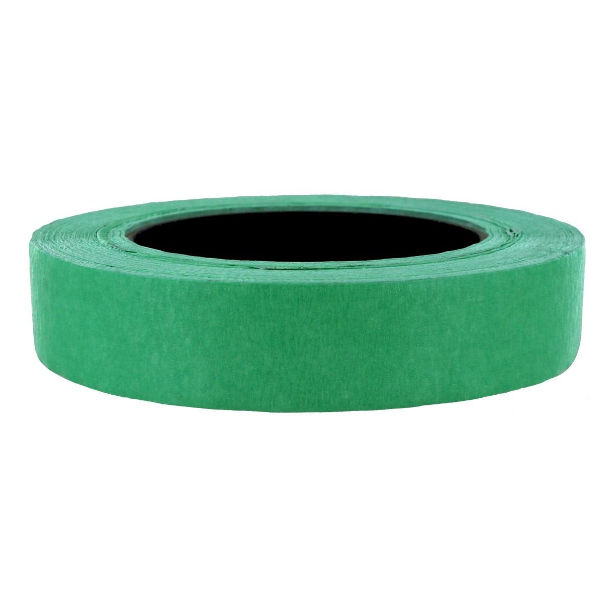 Masking Painters Tape, Green, 24 mm x 55 m, 48/cs