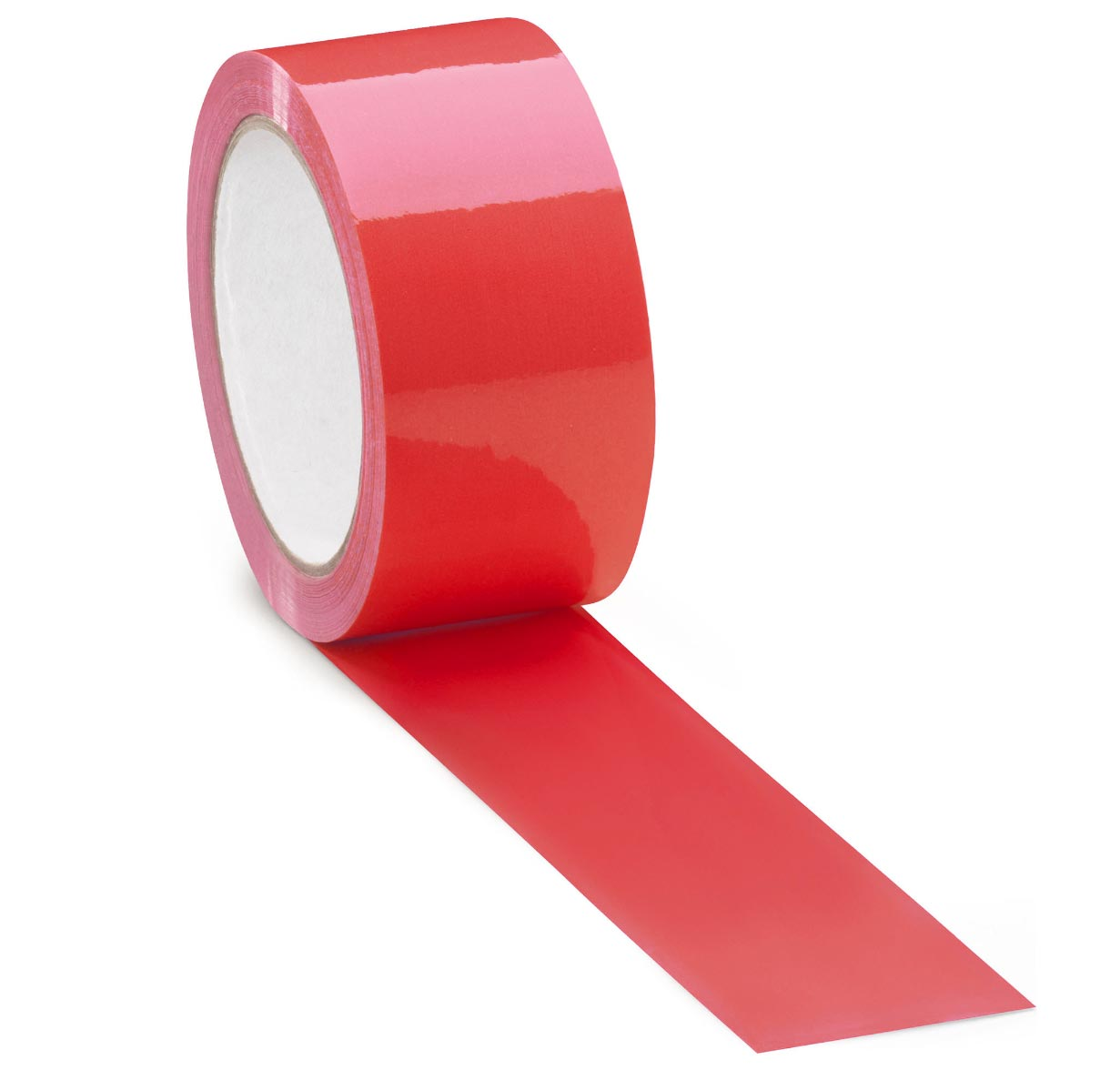 Packing Tape , Red, 48 mm x 100 m, 36/cs