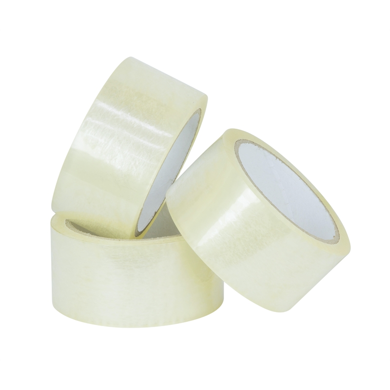 Packing Tape - 48mm x 100m - Medium Grade, Clear - 36/cs