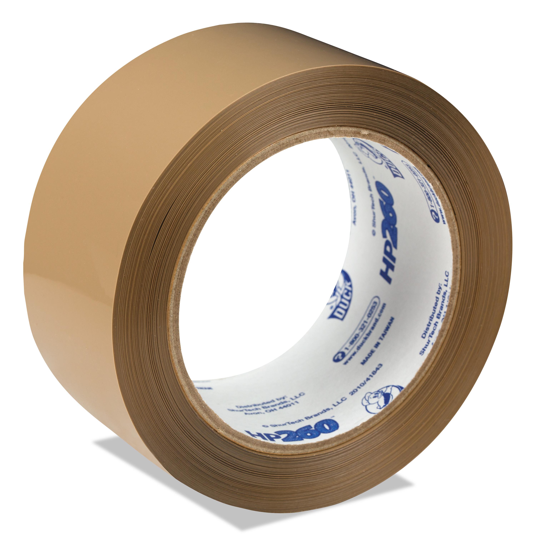 Packing Tape, Tan, Regular Duty, 48 mm x 100 m, 36/cs