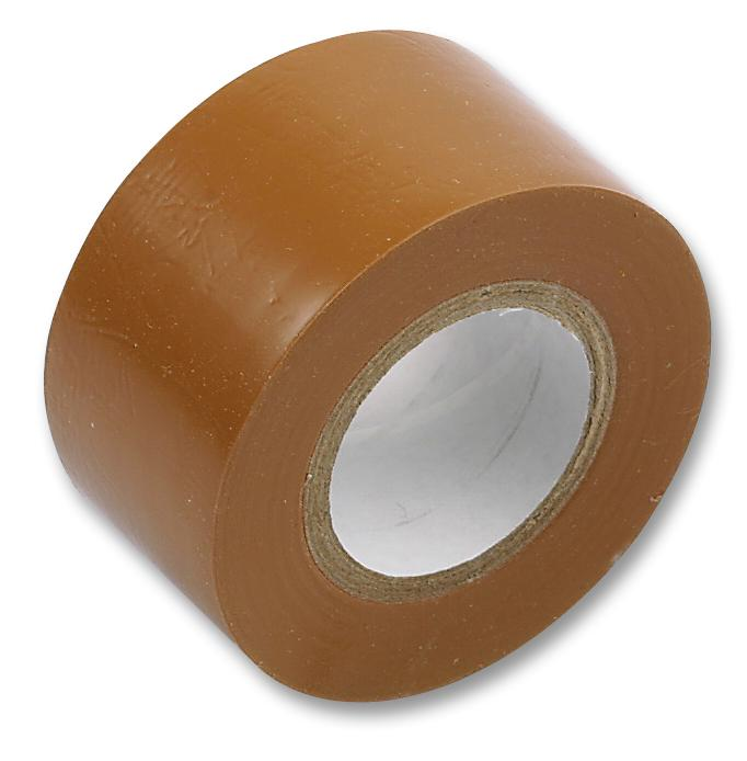 PVC Tape - 48mm x 66m - Tan - 72/cs