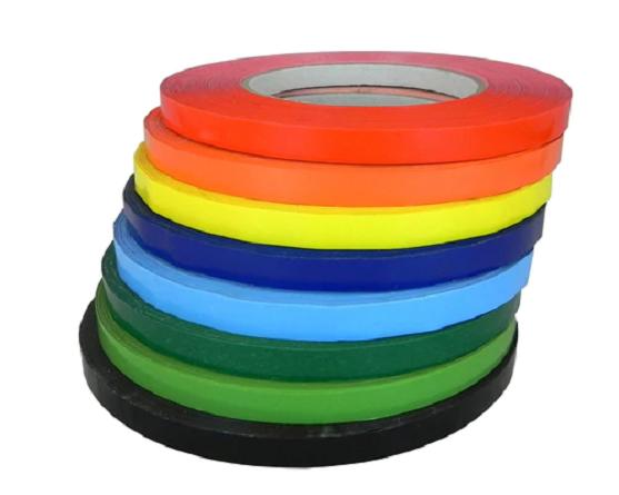 """Produce Tape - 3/8"""" x 66 m - Asst'd Colors"""