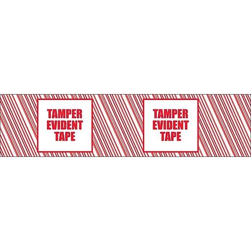 "Printed Security Tape - ""Tamper Evident Tape"" - 48mm x 100m (54/cs)"