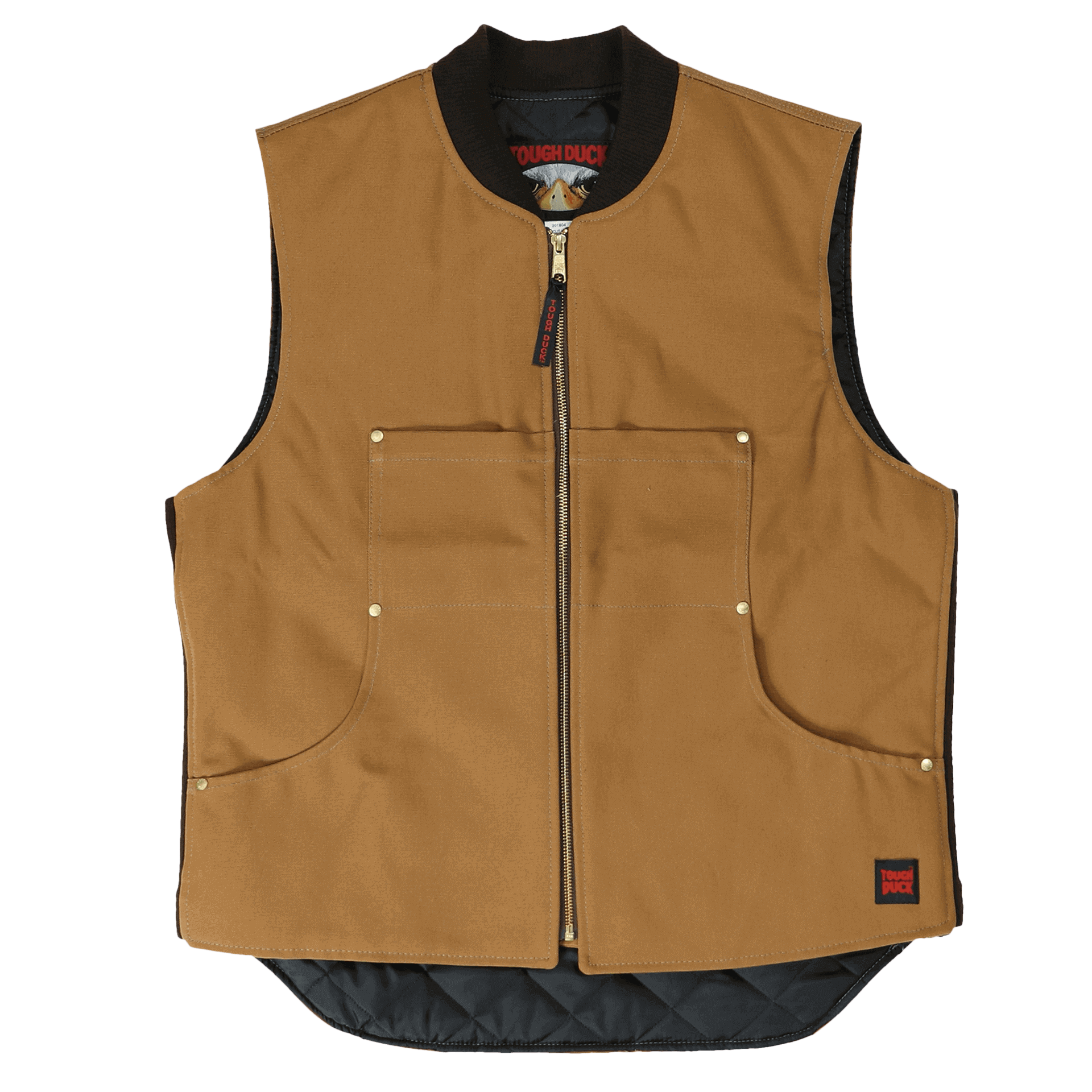Tough Duck Quilted Lined Vest - 1937