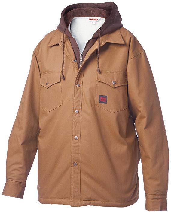 Tough Duck Sherpa Lined Fooler Front Duck Shirt - i6U3