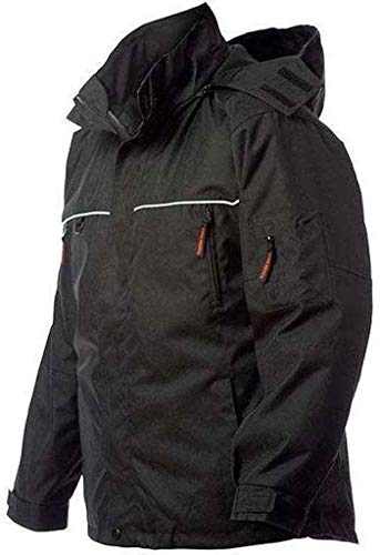 Tough Duck Poly Oxford 3-IN-1 Parka with Insulated Zip Liner