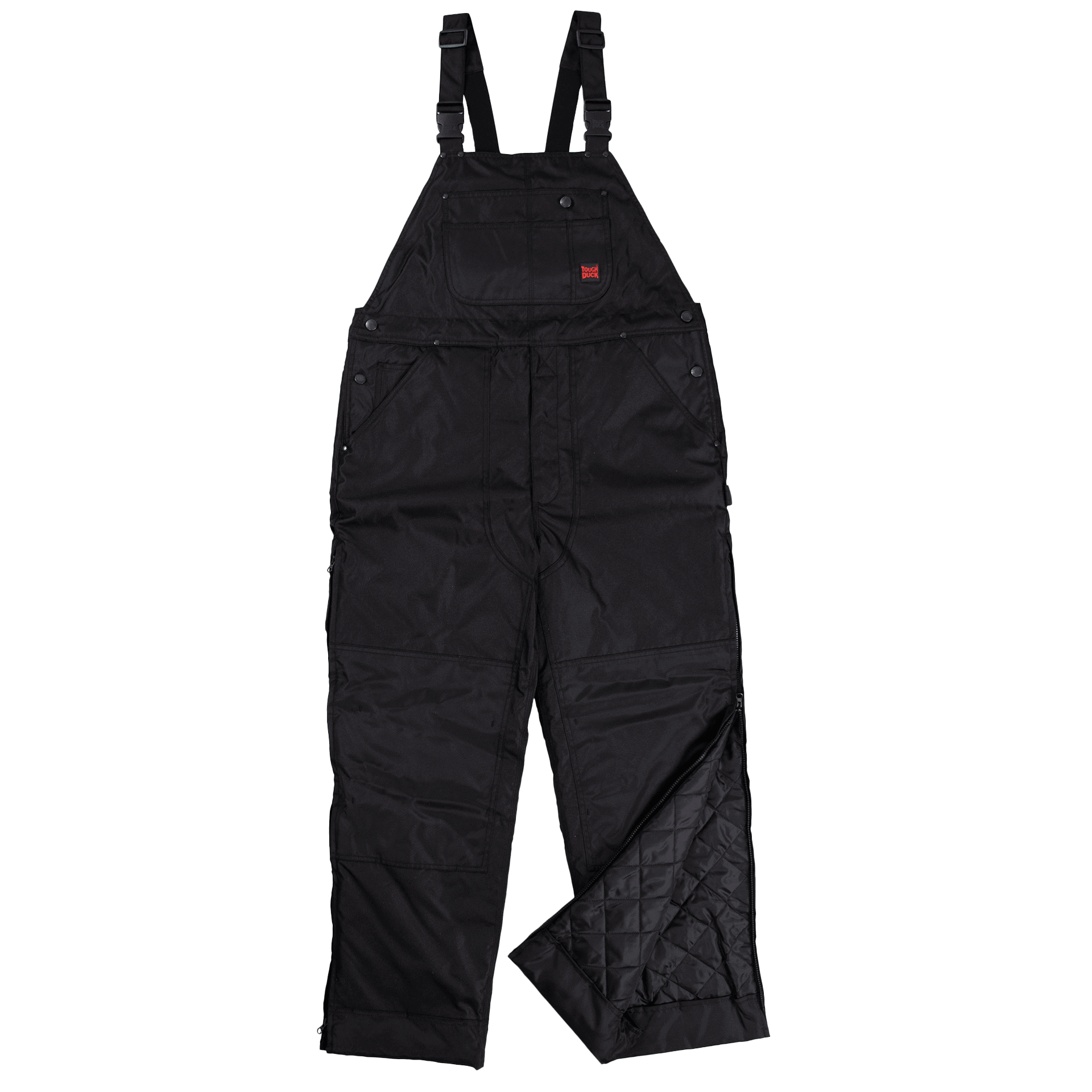 Tough Duck Poly Oxford Insulated Bib Overall - 7910