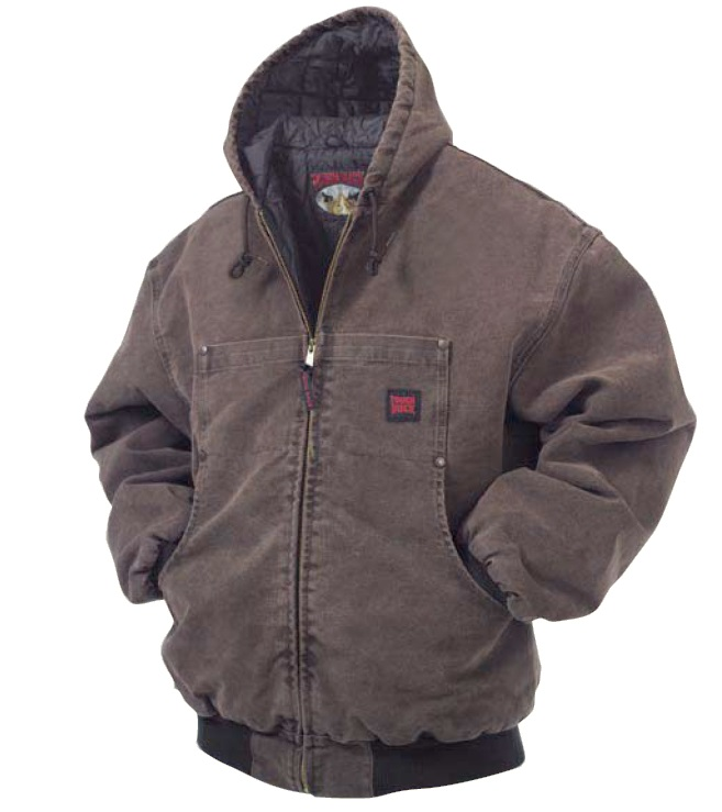 Tough Duck Washed Hooded Bomber - 51231B
