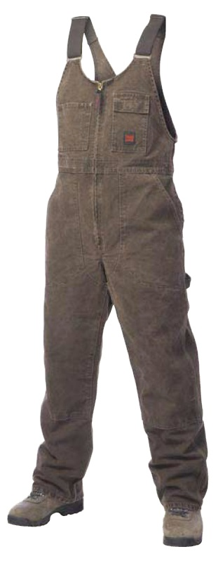 Tough Duck Washed Unlined Bib Overall - 76371B