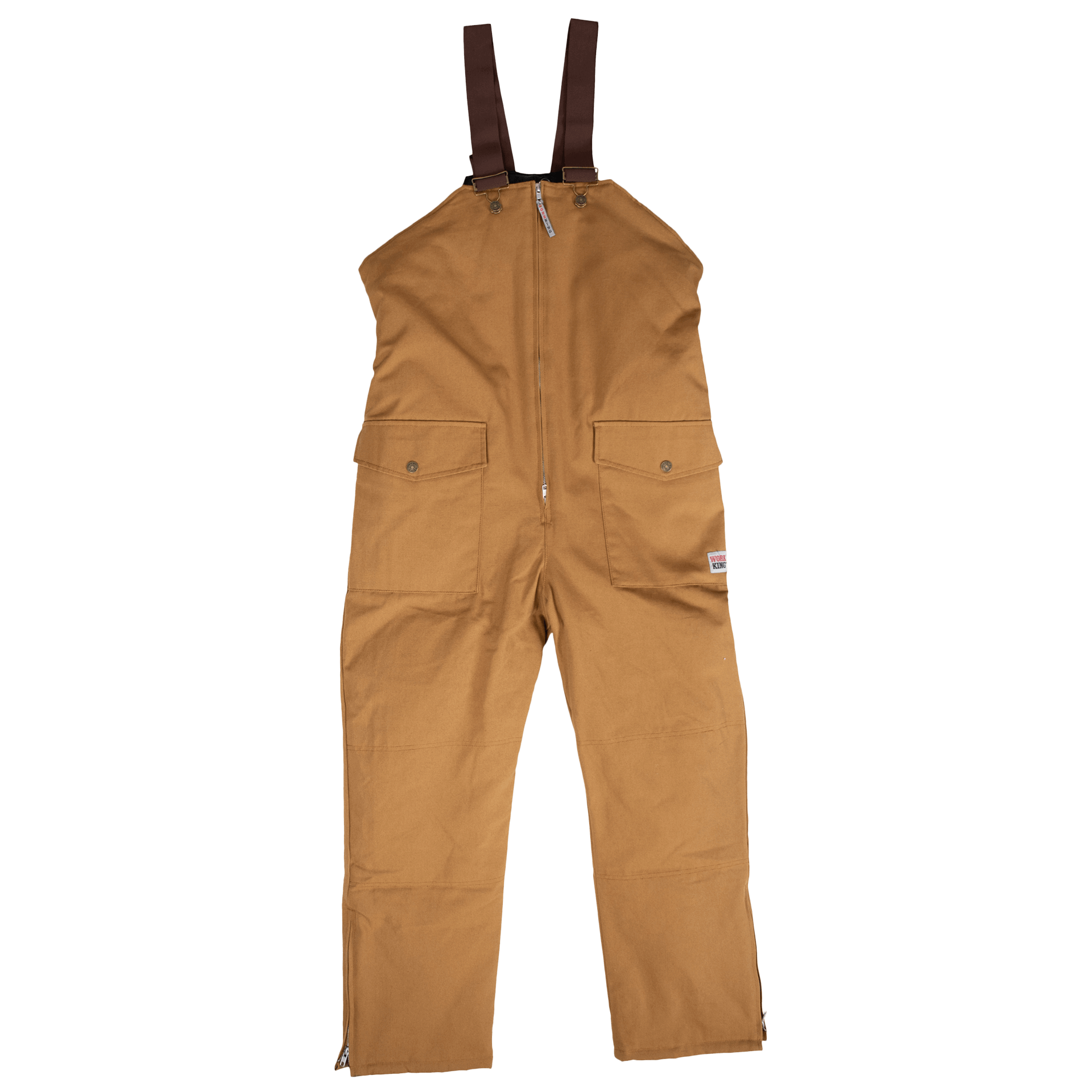 Work King Lined Bib Overall - 7930