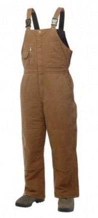 Work King Washed Duck Insulated Bib Overall - 7989