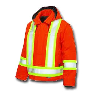 Tough Duck Hi-Vis Lined Utility Jacket - S4146