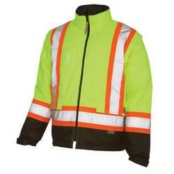 Work King Hi-Vis Lined 5-IN-1 Jacket - S426
