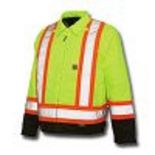 Work King Hi-Vis Lined Work Jacket - S453