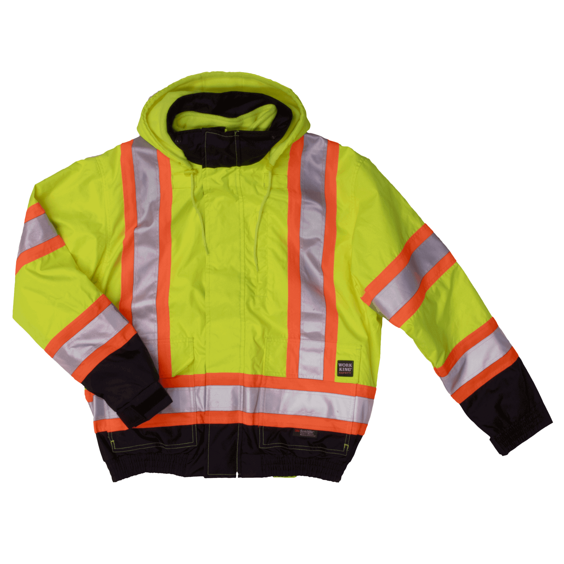 Work King Hi-Vis 3-IN-1 Bomber Jacket - S413