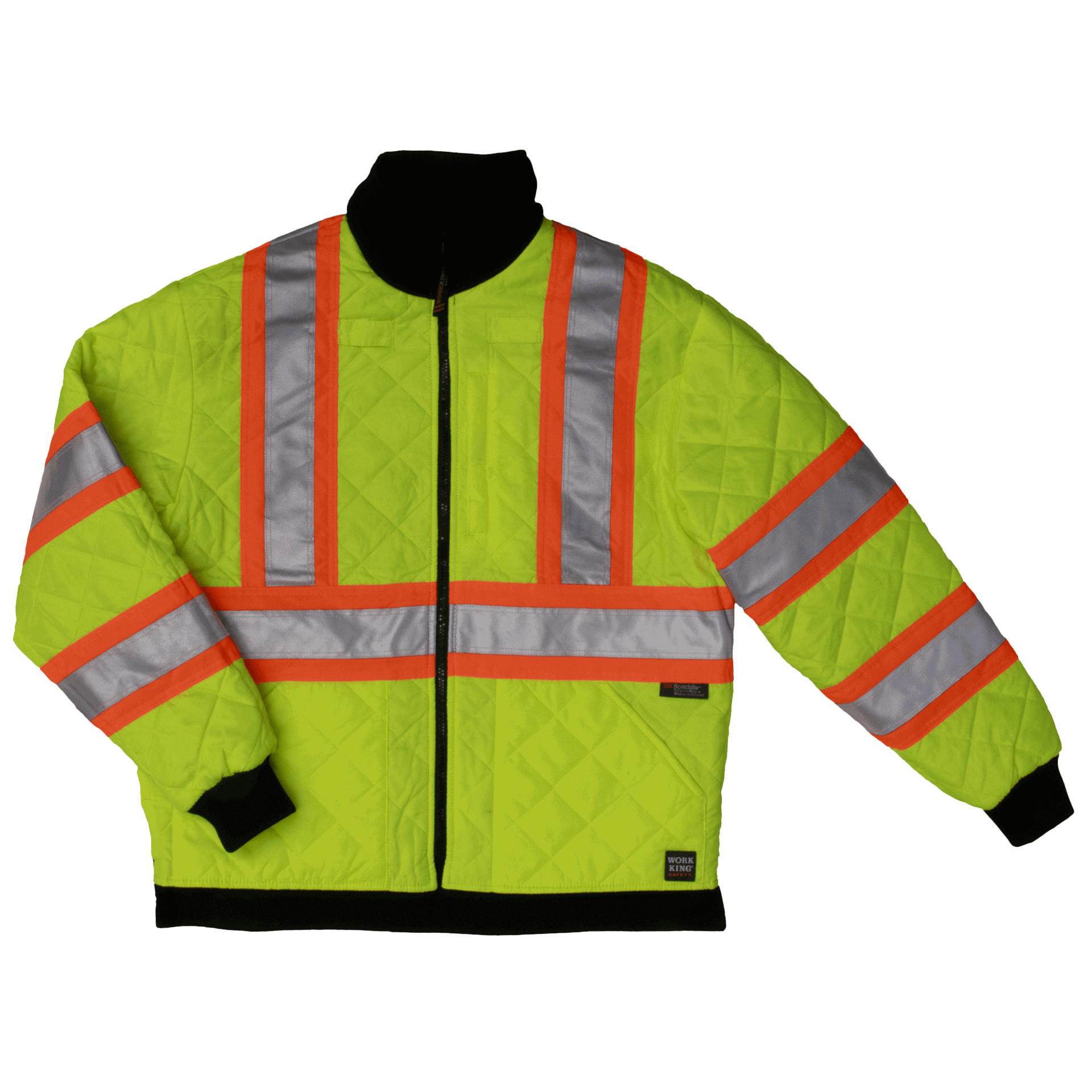 Work King Hi-Vis Duck/Safety Reversible Jacket - S241