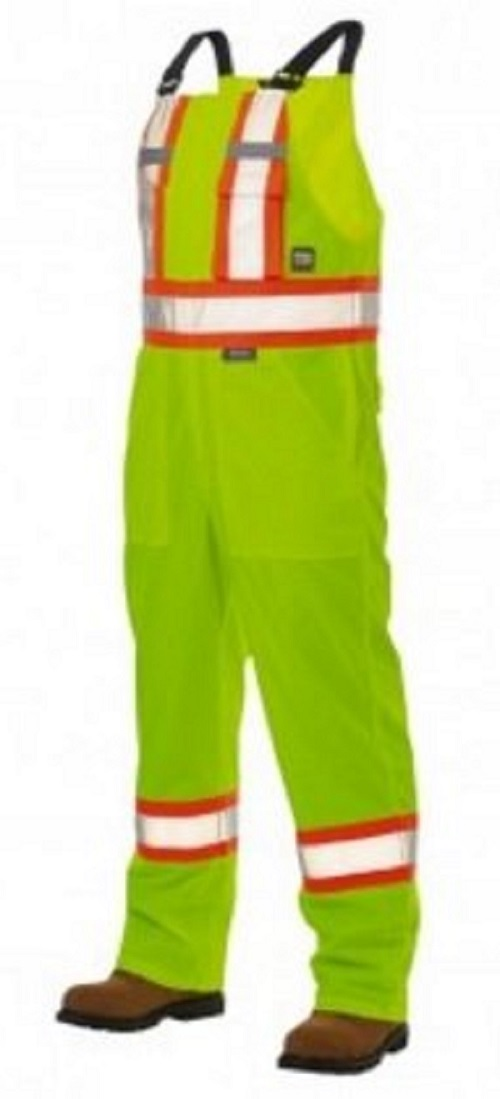 Work King Hi-Vis Unlined Insulated Bib Overall - S767