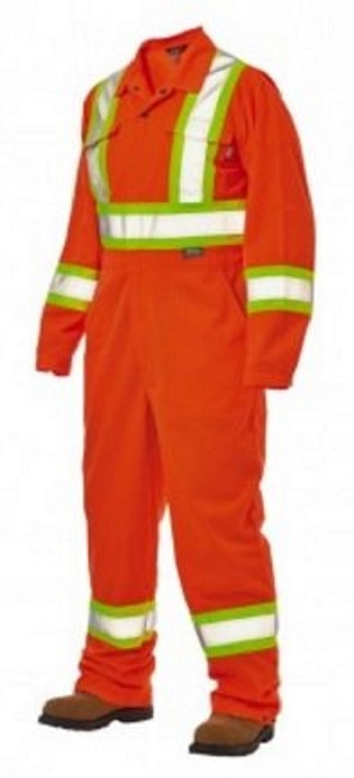 Work King Hi-Vis Unlined Coverall - S796