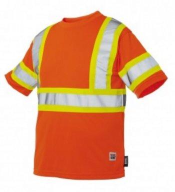Work King Hi-Vis Short-Sleeve T-Shirt With Armband - S394