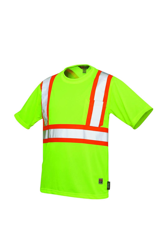 Work King Hi-Vis Short Sleeve T-Shirt With 3 Pockets - S364