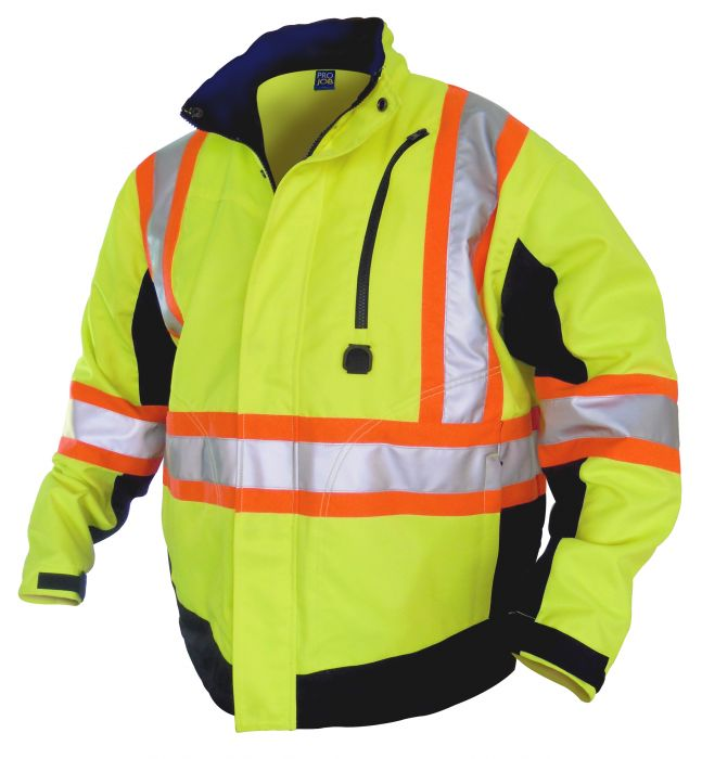 ProGen Hi-Viz Unlined General Purpose Jacket - 6410