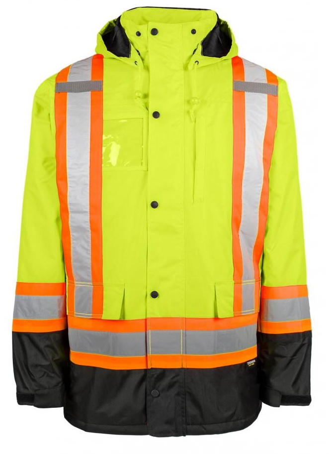 Terra (BBH Group) Hi-Viz Jacket - Yellow -116504YL