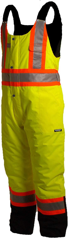 Terra (BBH Group) Hi-Viz Overalls - Yellow -116507YL