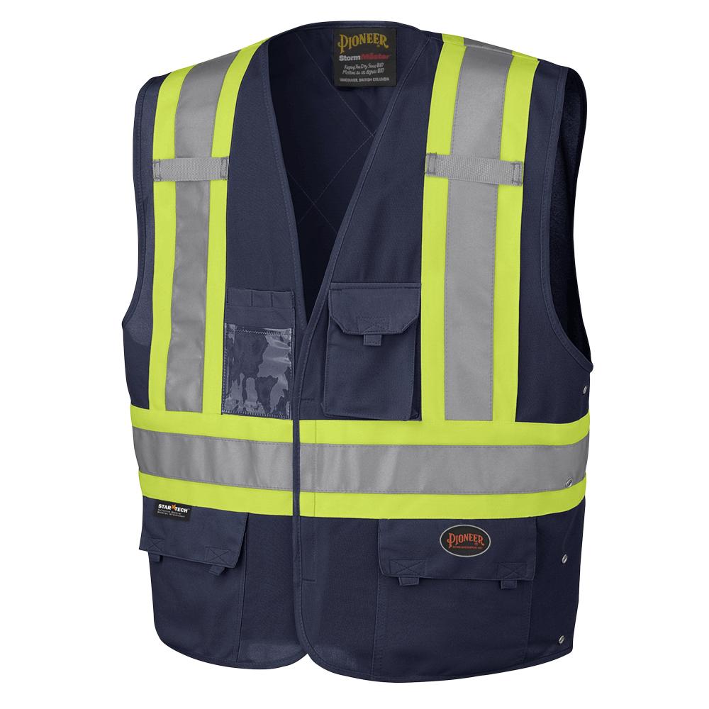 Pioneer Hi-Viz Safety Vest V1021580 - 134N