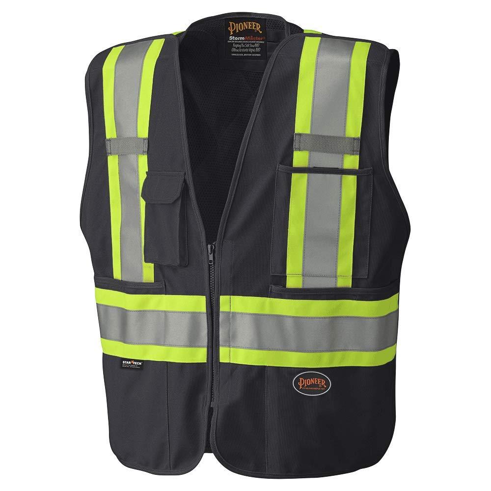Pioneer Hi-Viz Safety Tear-Away Mesh Back Vest V1021170-