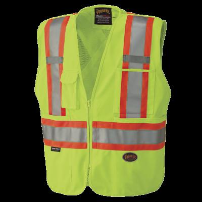 Pioneer Hi-Viz Safety Tear-Away Mesh Back Vest V1021260